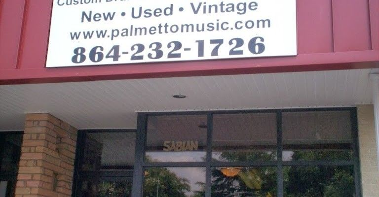 We closed the retail store on Dec. 31, 2013 but continue to build Palmetto Custom Drums