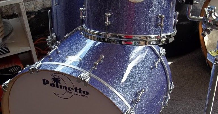 Gently used Palmetto Drum kit-Iceburg Blue