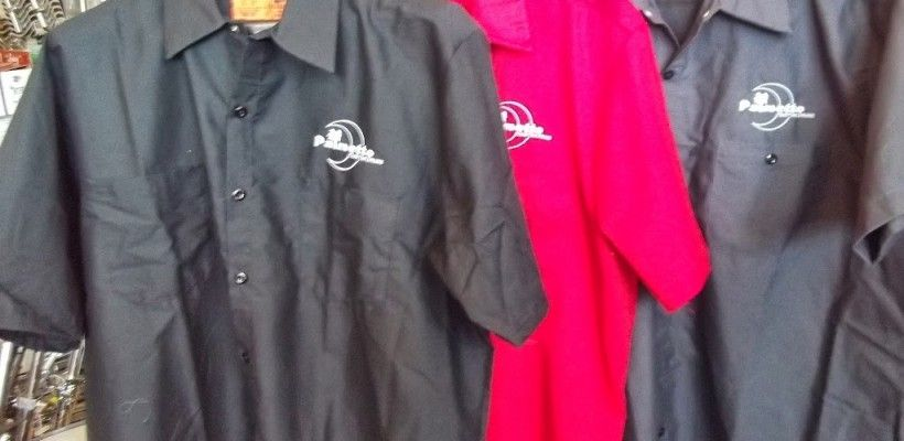 Palmetto Drum Workshirts – great for gigs – $40